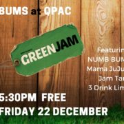 BUMS retrn to the QPAC Green Jam 22 December