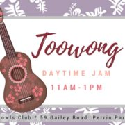 BUMS Daytime Jam at Toowong Bowls Club -Every second Wednesday in the month