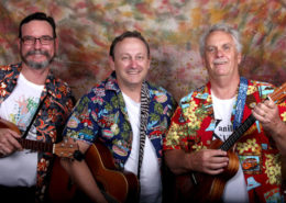 Kine Kool is an associated performing band of Brisbane Ukulele Musicians Society (BUMS Inc)