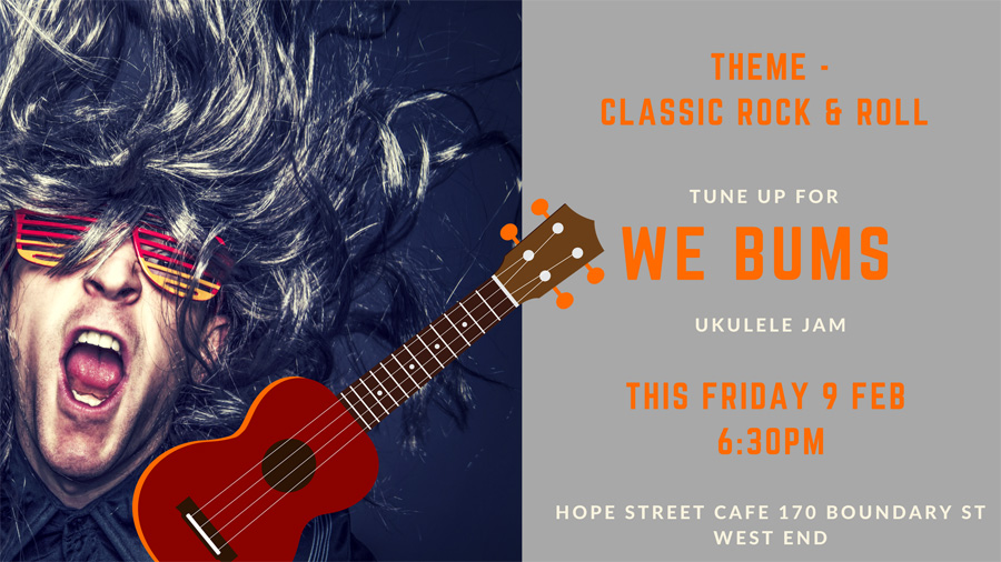 Join Max & Ian and get your rock on at WEBUMS this Friday night!
