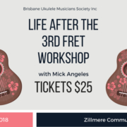 Get your tickets for Life After the 3rd Fret Workshop.