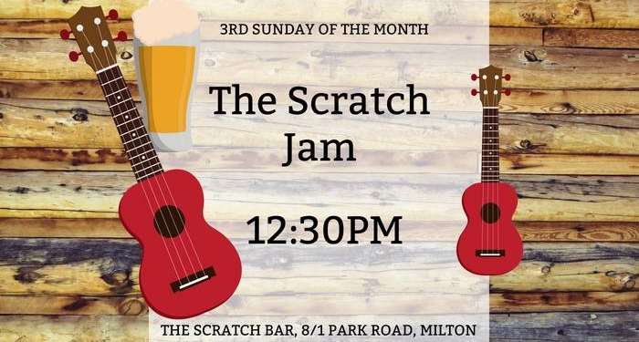 Got an itch to play ukulele? Take it to The Scratch Bar, Milton very third Sunday of the month