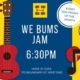 WE BUMS jam at Hope Street Cafe West End -every 2nd Friday of the month