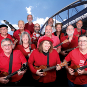 The BFG- BUMS Supergroup to perform a Uke Opera at Newkulele 2019