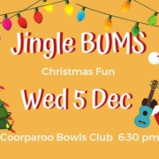 Lots of festive fun at Jingle BUMS our biggest jam of the holiday season