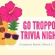 A SPRUKE 2019 fundraising night of raffles, prizes, fun and musical surprises, Saturday 2 March at Coorparoo Bowls Club.