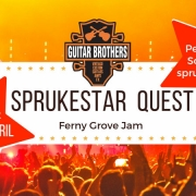 Round two for SPRUKESTAR QUEST is at April Ferny Grove Jam