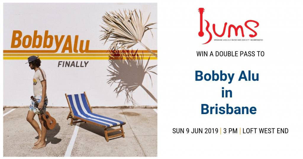 Win a double pass to Bobby Alu