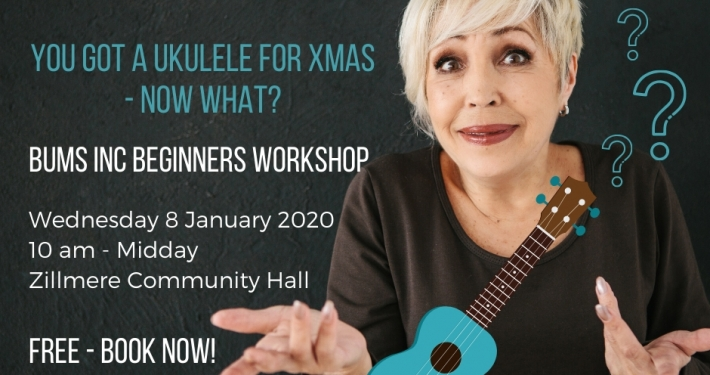 This workshop is for people who have just got a ukulele and do not know where to begin.