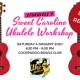Stukulele bought Uke Mellum to Brisbane with his Sweet Caroline Ukulele Arrangement Workshop with a Jam afterwards.