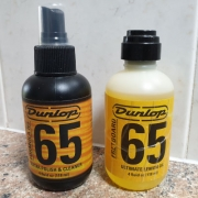 Keep your uke looking good with Dunlop 65 cleaner.