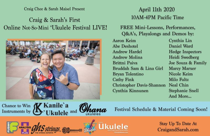 Not-so-mini Mini Ukefest #1 program