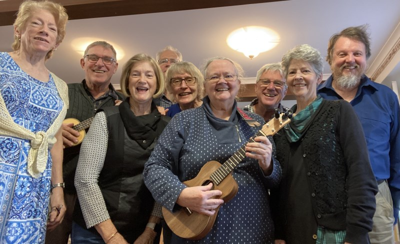 The Brisbane Celtic Ukulele Group